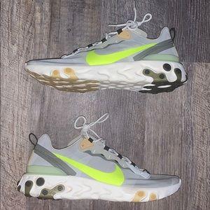 Nike react element running shoe